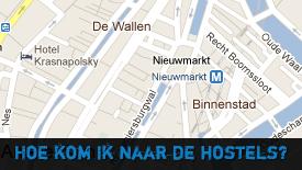 Directions Hostels Amsterdam Centrum