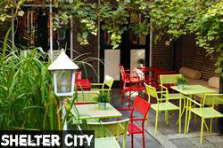 melhores hostels Amsterdam Jardim