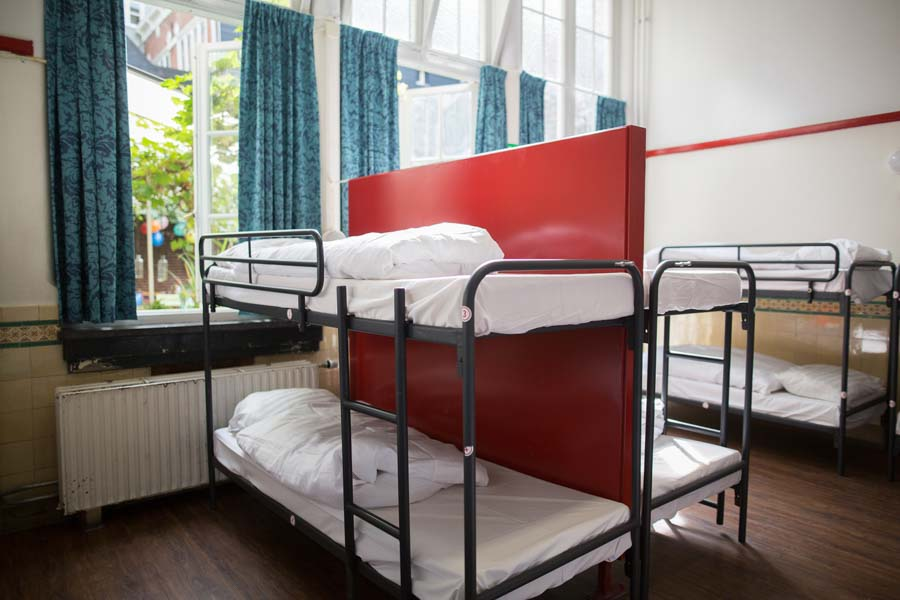 16 bed female dorm