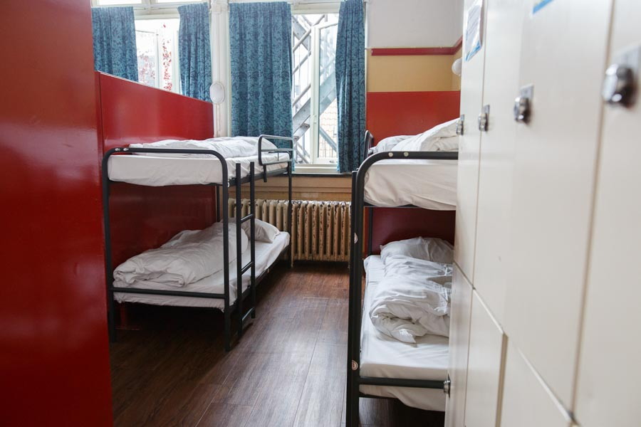 16 bed male dorm